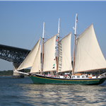Schooner Alliance Riverwalk Landing Yorktown