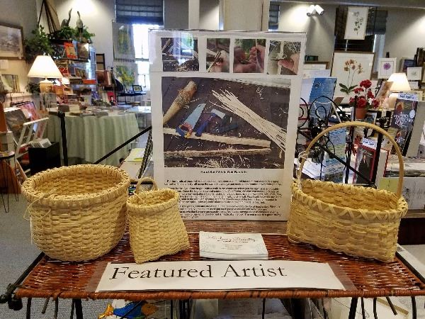 Basketmaking Featured Artist Kristy Engel