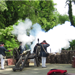 Yorktwon Victory Center artillery firing