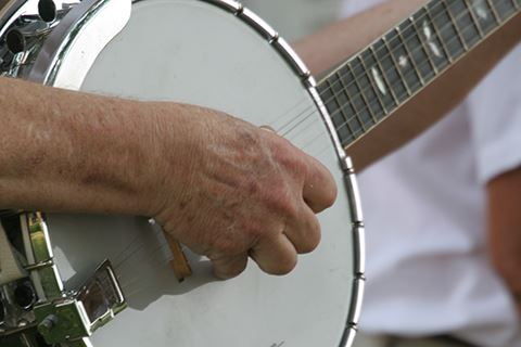 Banjo Playing Photo