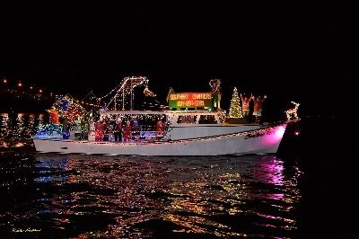Southbay Charters Best in Show Lighted Boat Parade 2017