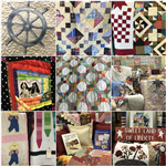 Quilt Collage Gallery at York Hall