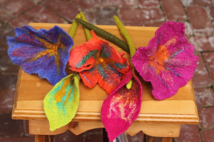 Felt Flower Workshop