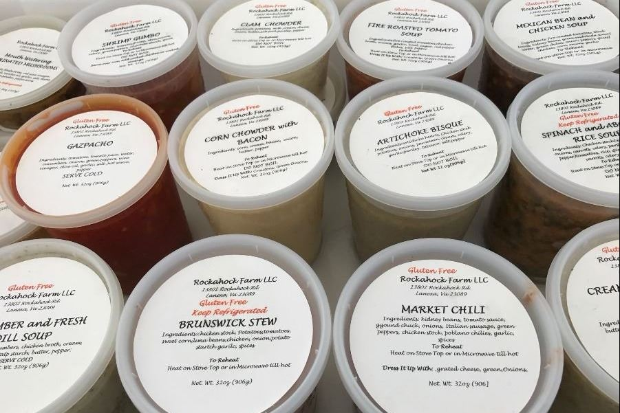 Soups from Rockahock Farm