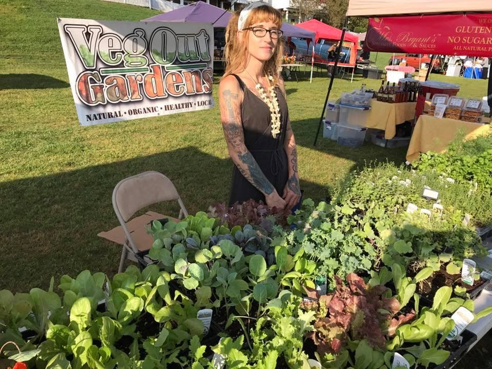 Veg Out Vendor Market Days