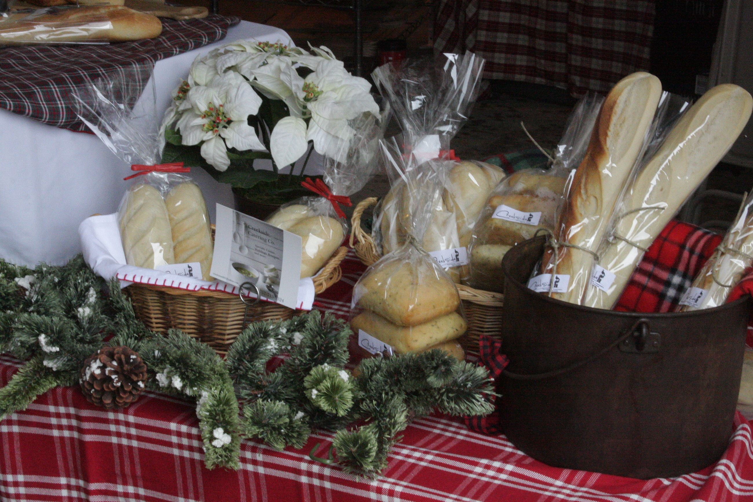 Creekside Catering Holiday Market