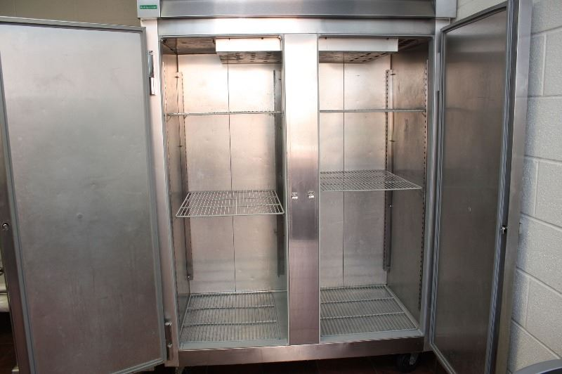 Fridge With Doors Open