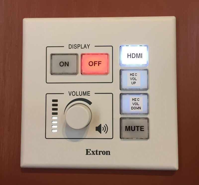 Controls for Sound System