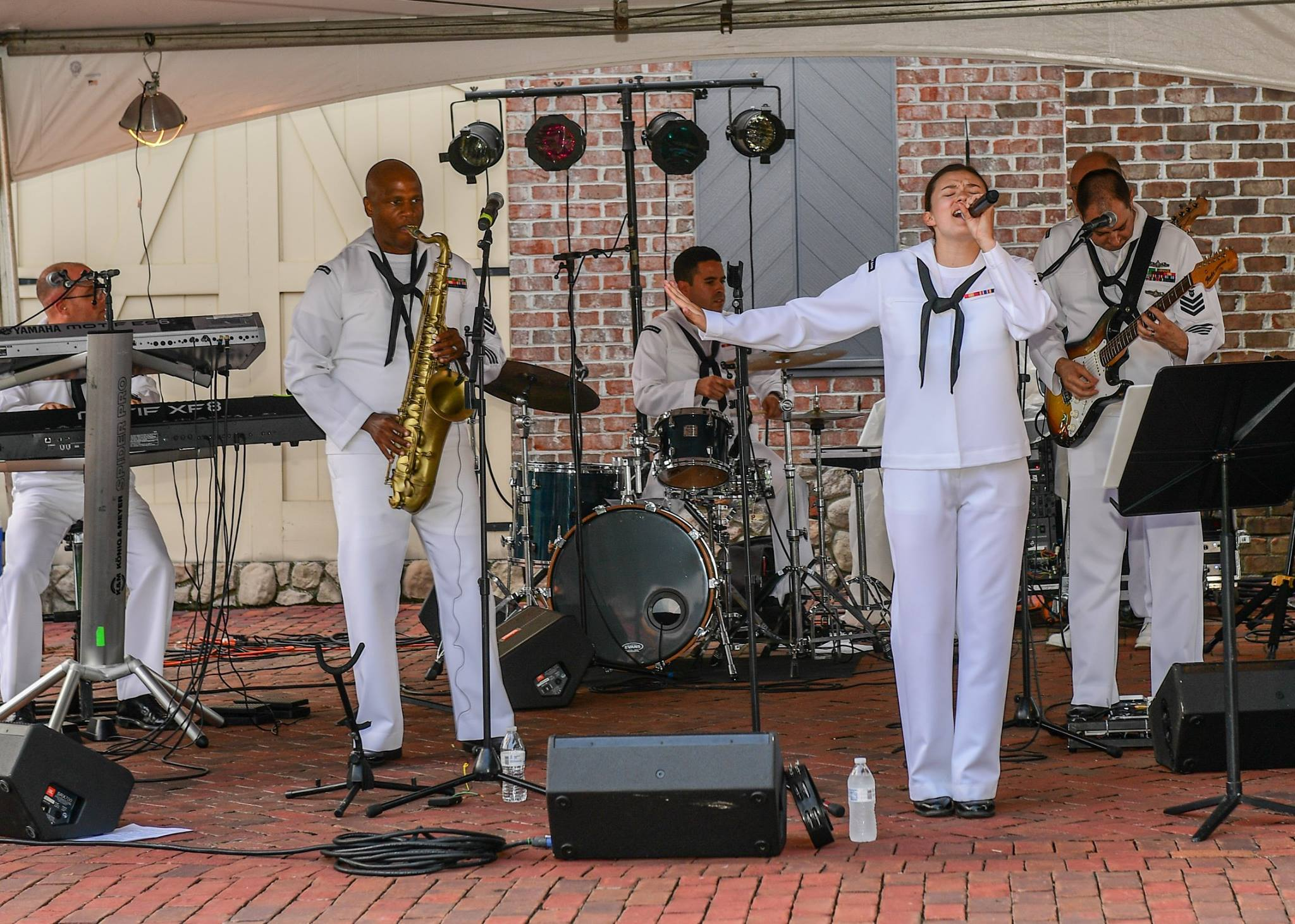 2017 U.S. Navy Fleet Forces Band Aug 2017