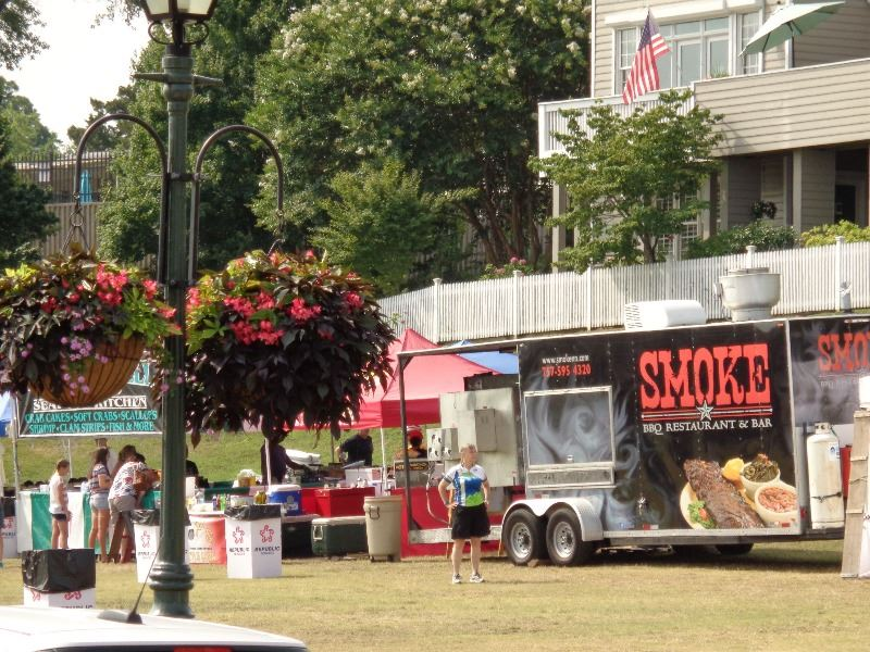 Smoke Food Truck Fourth of July