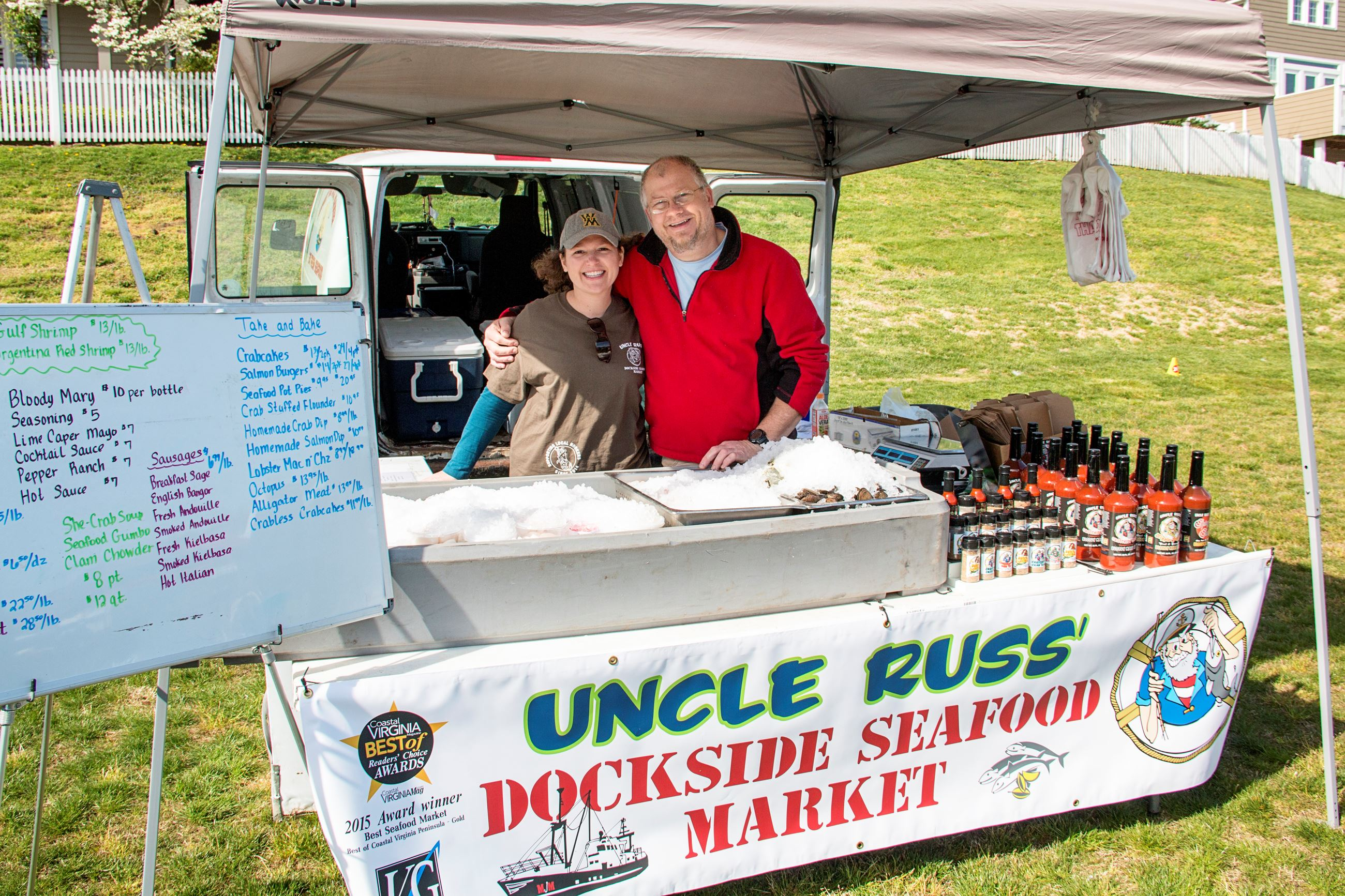 Uncle Russ' Dockside Seafood Market