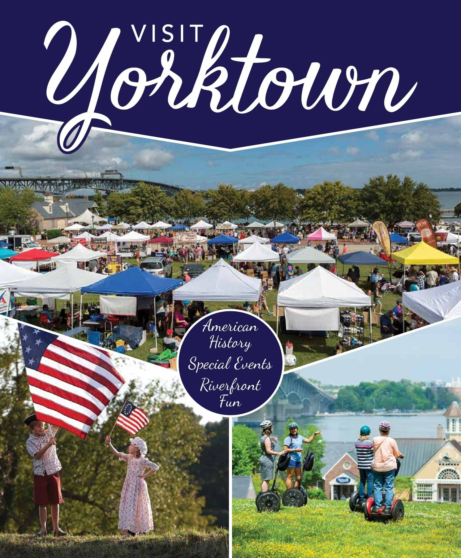 Yorktown Visitor Guide Cover 2018