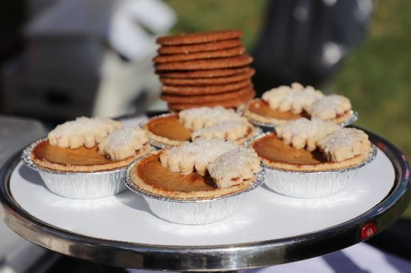 Miniature Pumpkin Pies at Harvest Festival