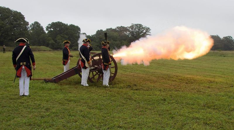 Before the Siege Cannon Firing