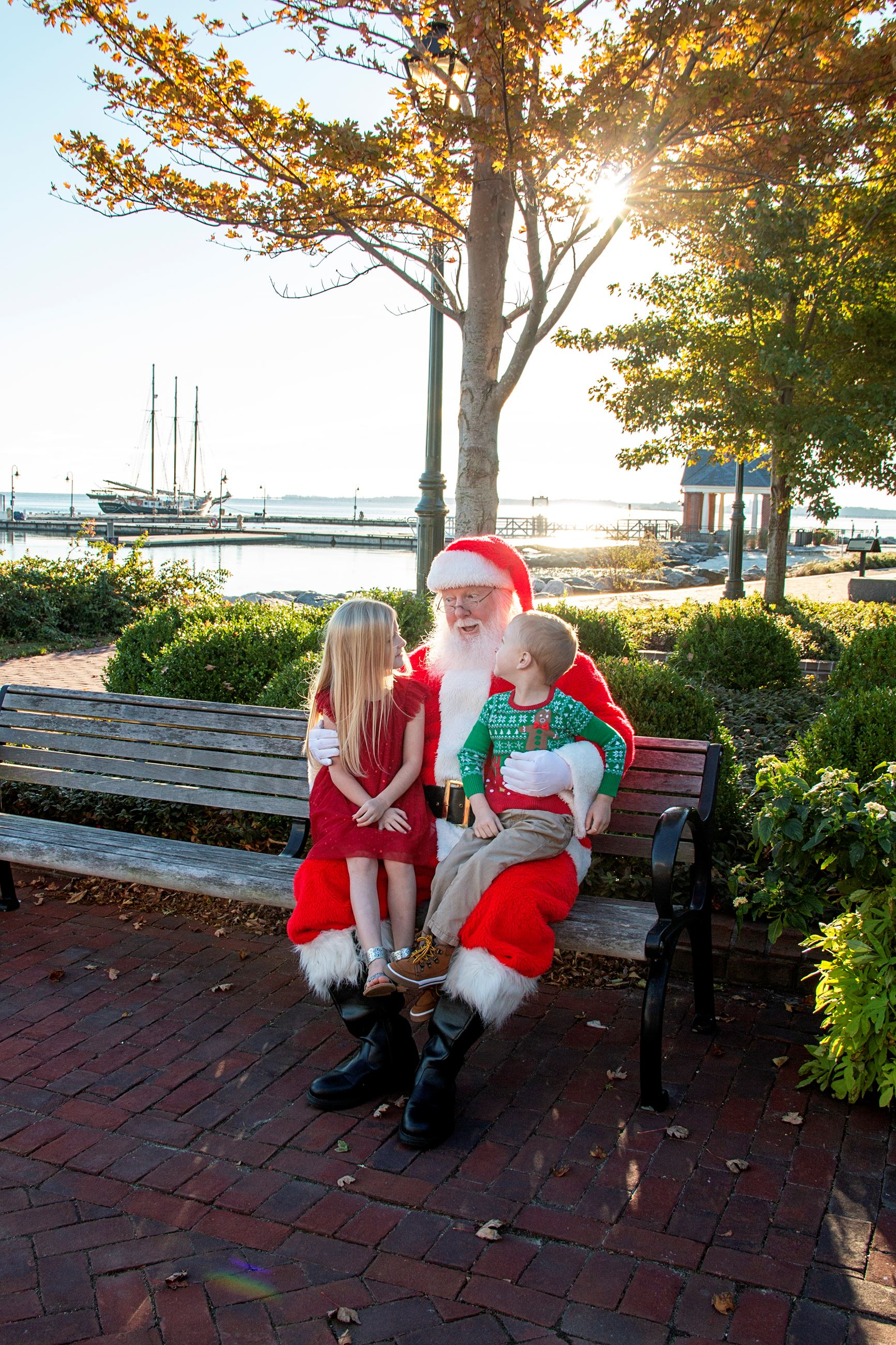 Santa at Riverwalk Landing