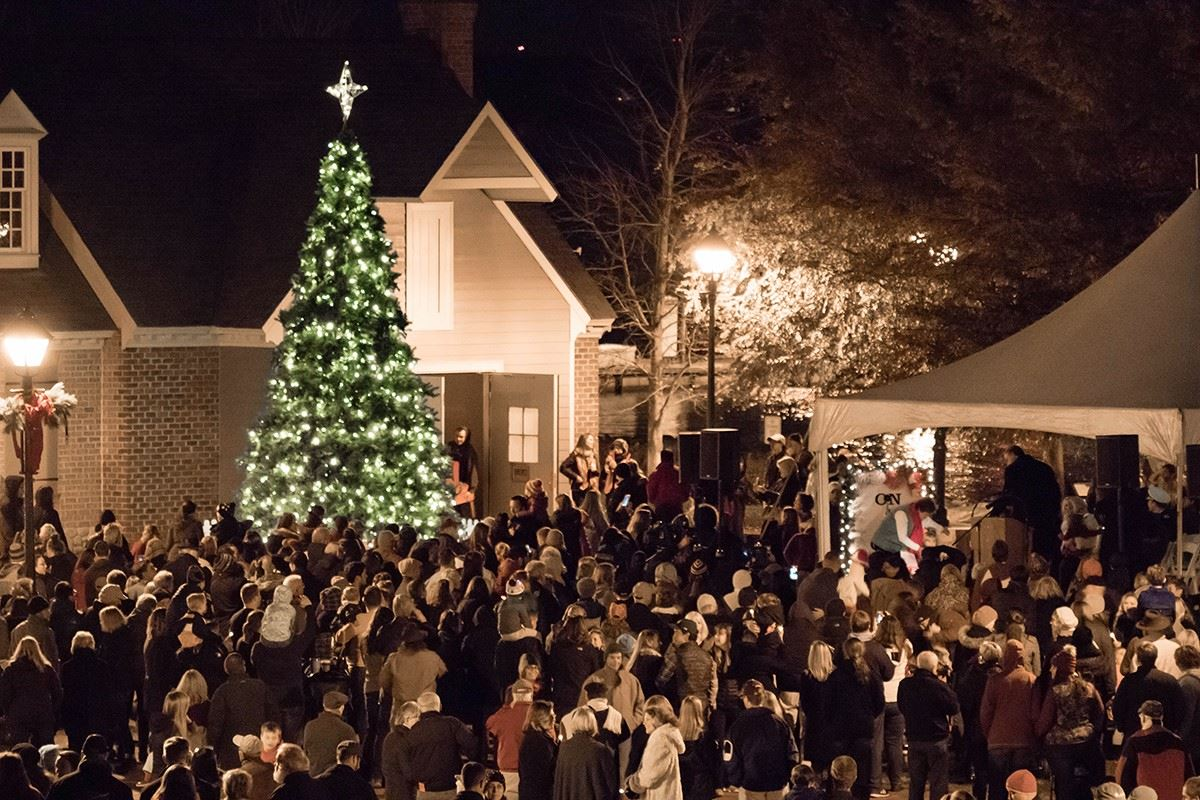 Yorktown Christmas Tree Lighting Ceremony 2017
