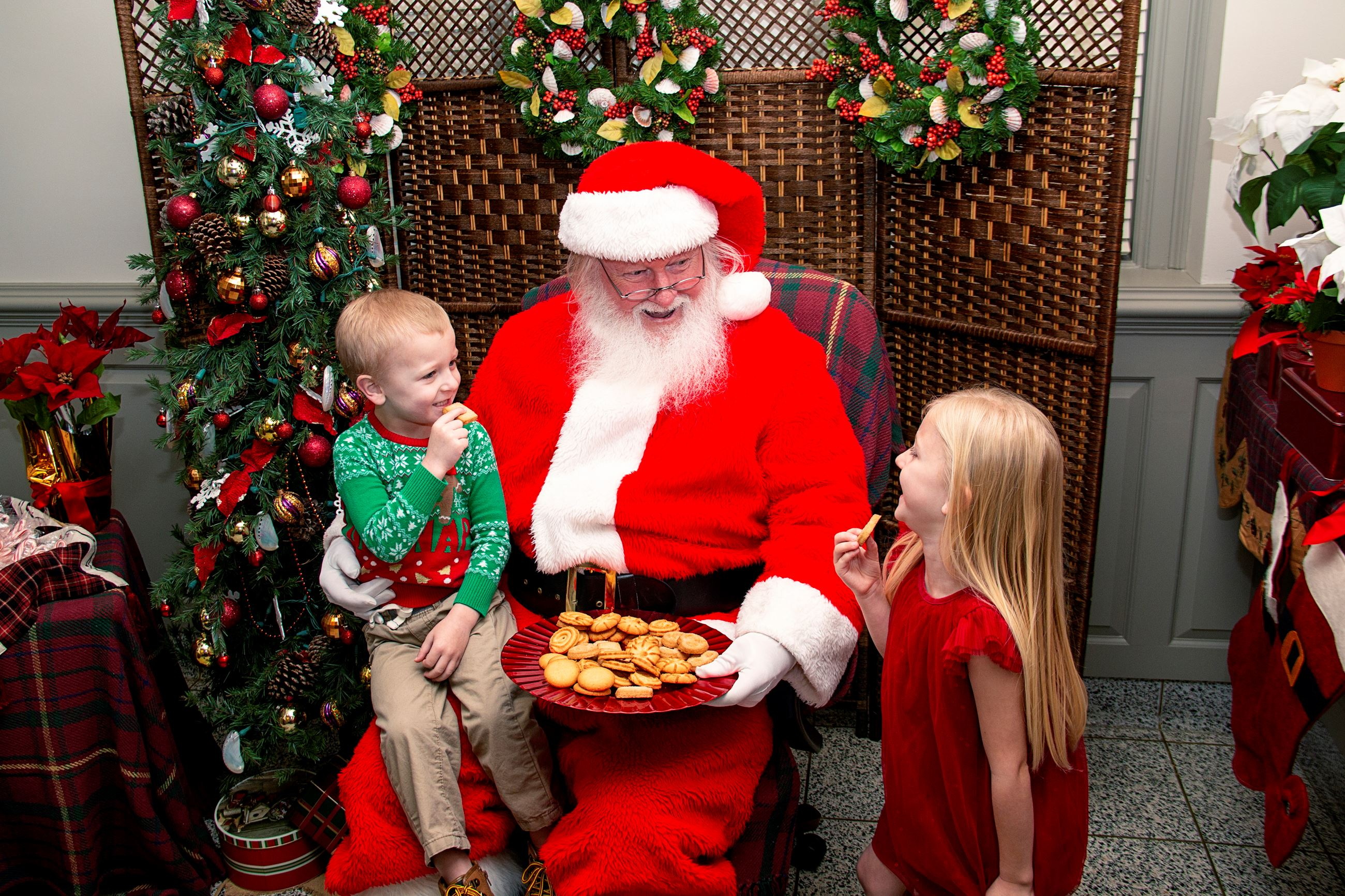Cookies with Santa at Gallery at York Hall