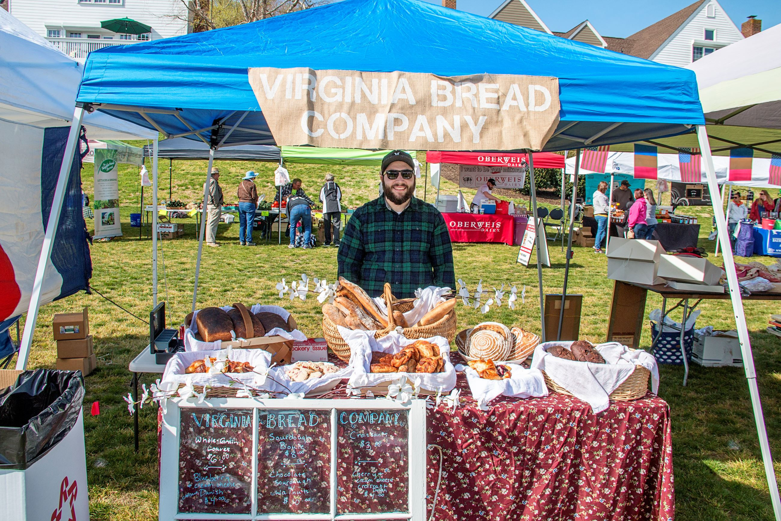 Virginia Bread Company Market Days Vendor