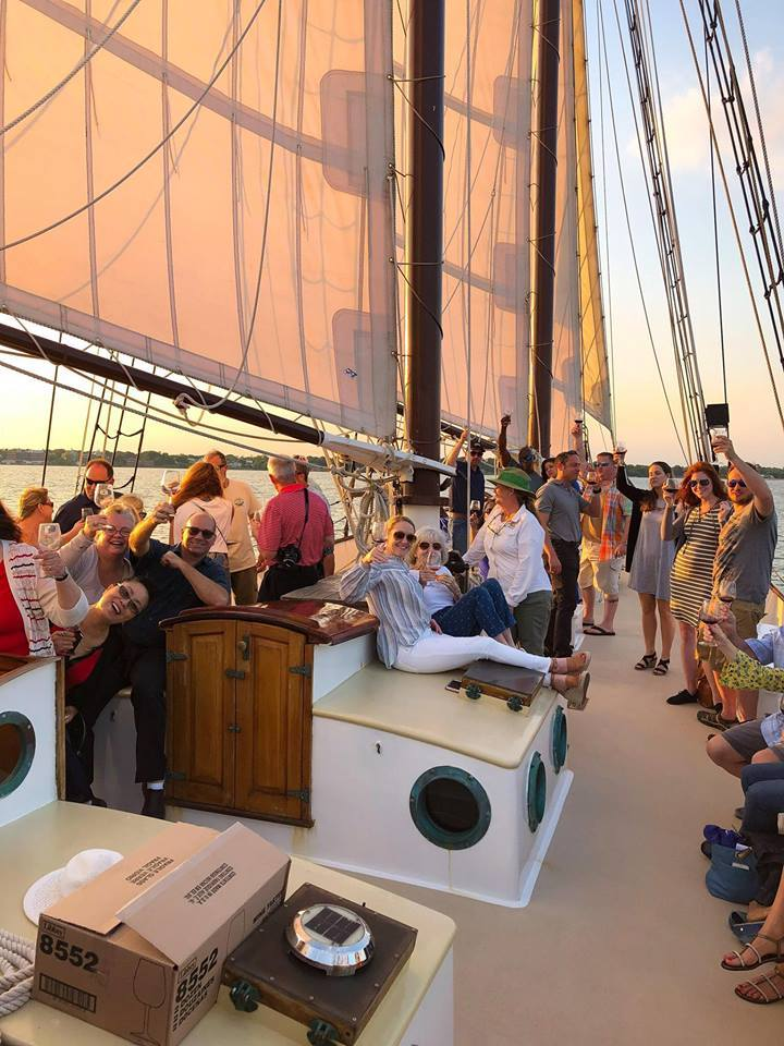Wine Cruise on Schooner Alliance