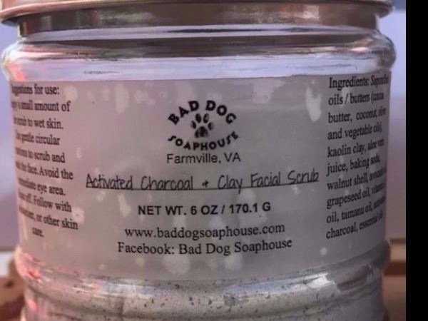 Activated Charcoal Scrub from Bad Dog Soaphouse