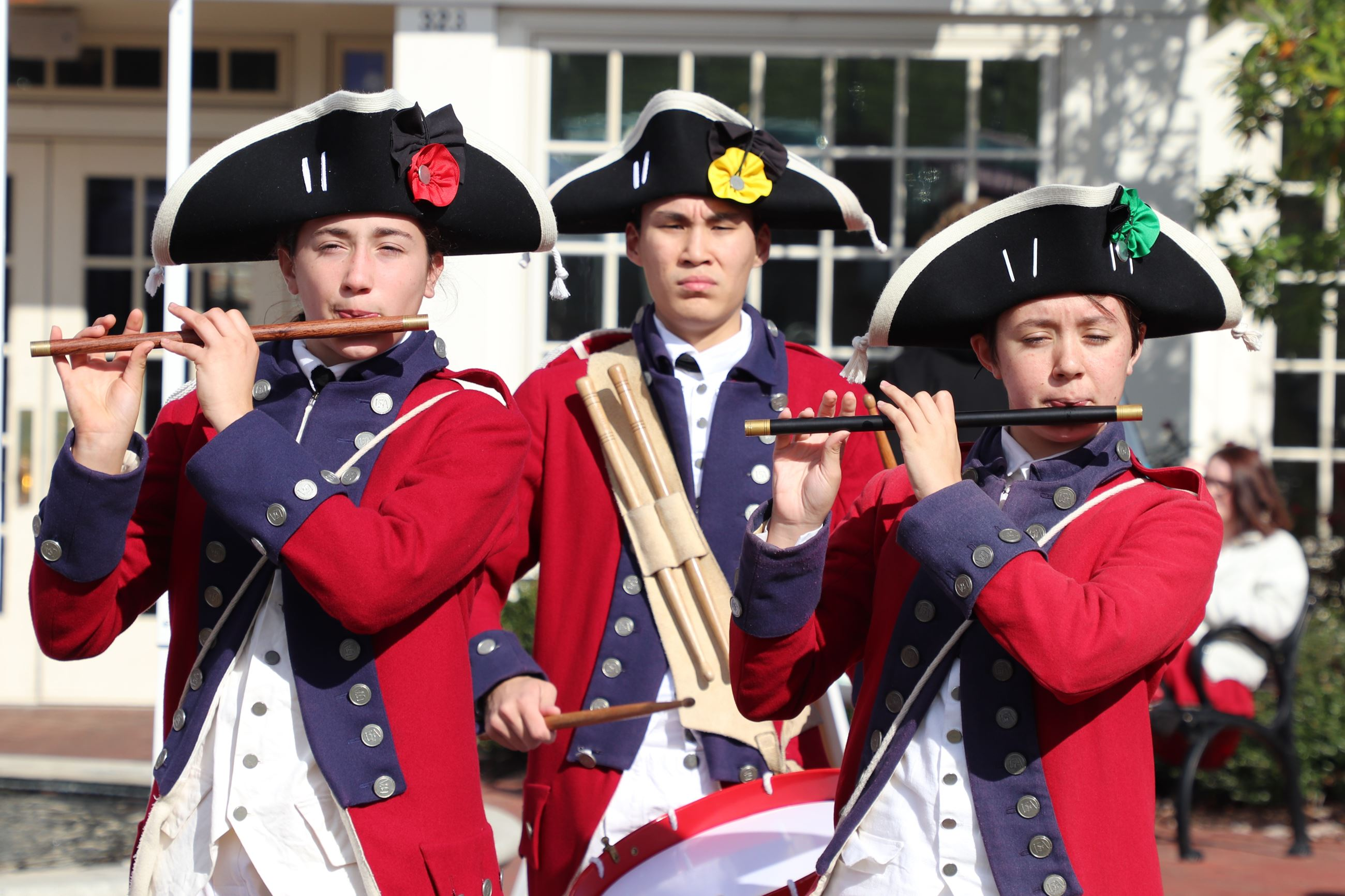 Fifes and Drums at Market