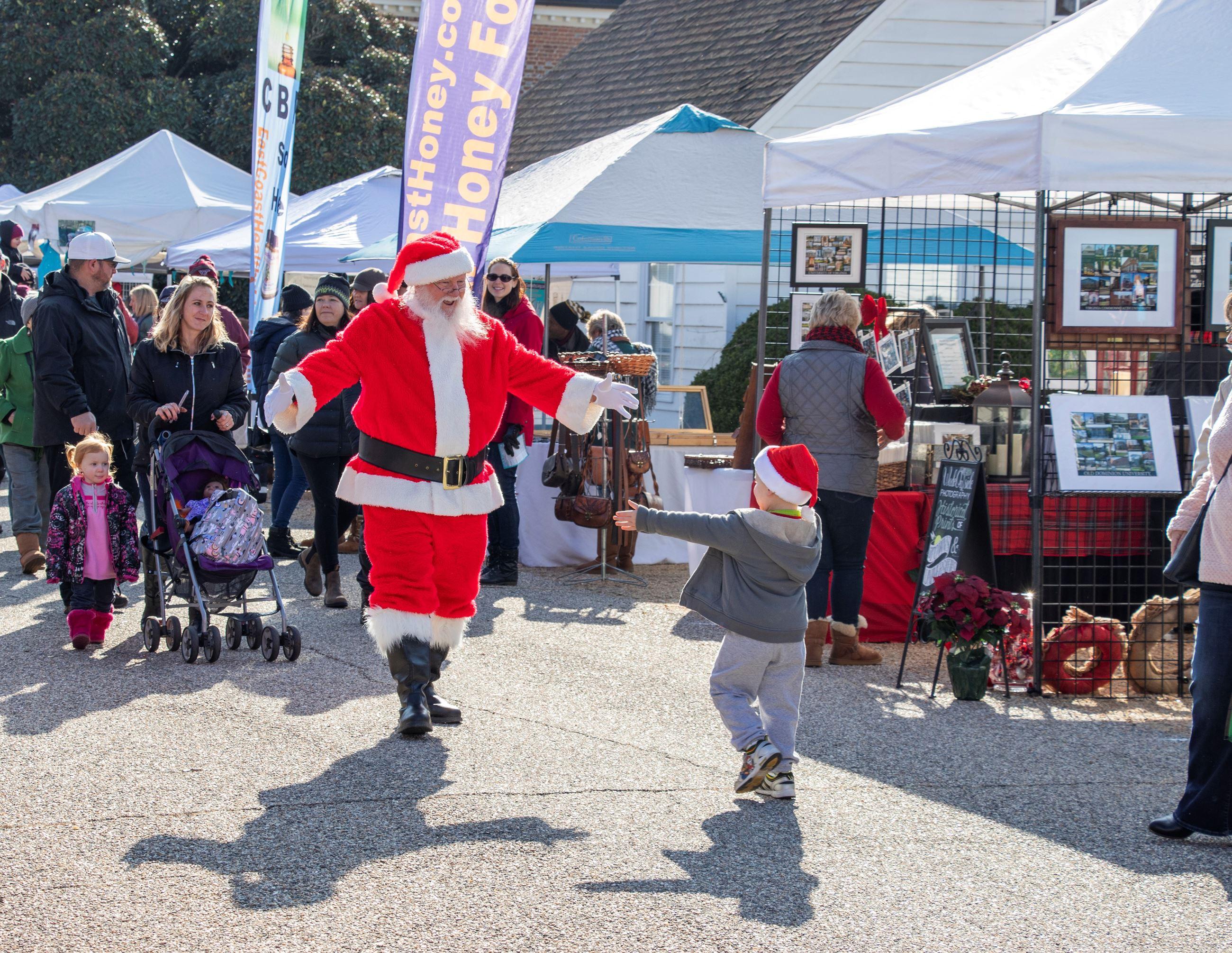 2020 Yorktown Christmas Market on Main