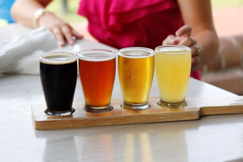 Water Street Grille Beer Flight