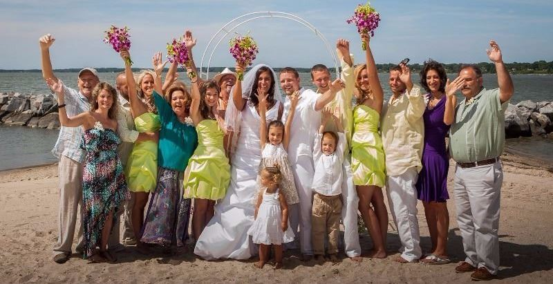 Yorktown Beach Wedding by Alexander's Photography