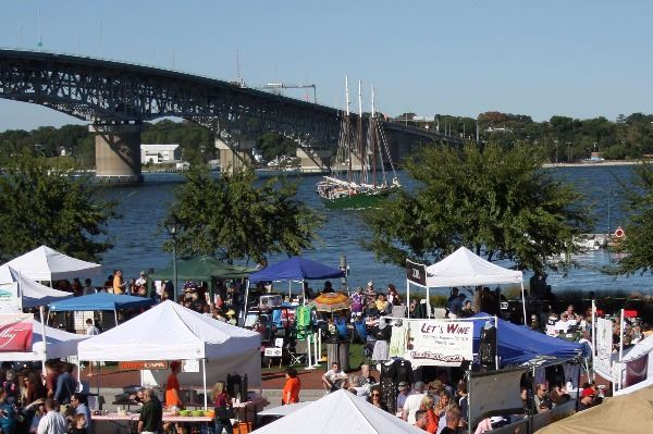 Yorktown Wine Festival Riverwalk Landing