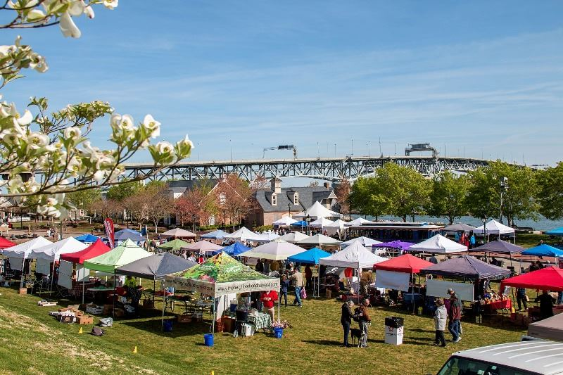 Yorktown Market Days by the River