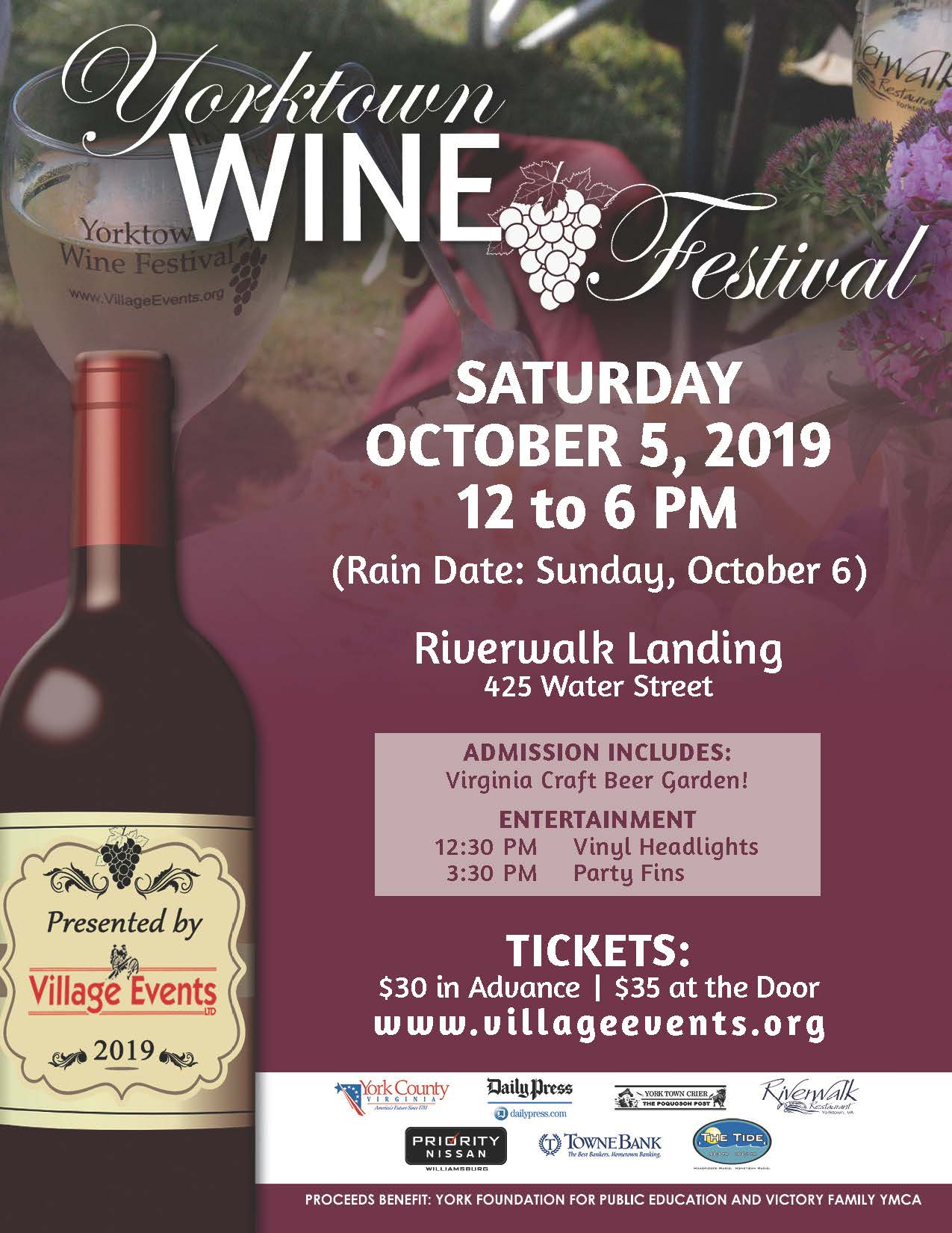 2019 Wine Festival  Opens in new window