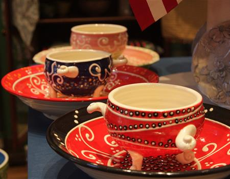 Auntie Ms American Cottage -  Tea Cups