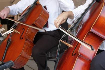 Arts Month - Cellos