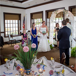Riverwalk Restaurant Wedding Ceremony