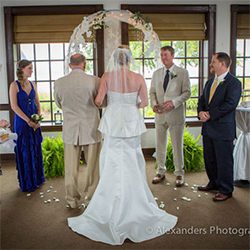Riverwalk Restaurant Wedding