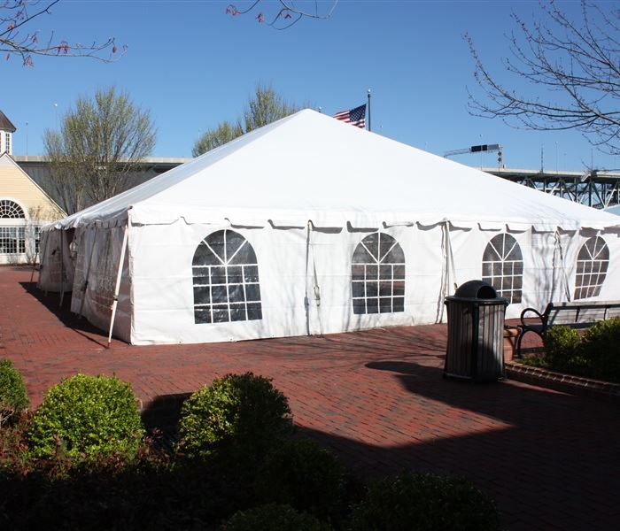 Left Side of Tent